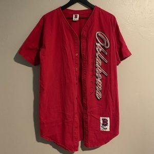 University of Oklahoma baseball Style Shirt